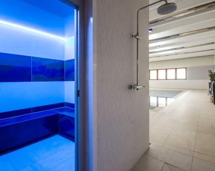 bagno turco nell''area relax