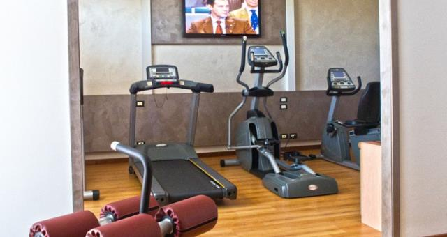 Palestra e centro fitness al Best Western Hotel Modena District