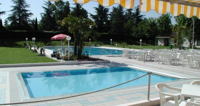 The Green Club swimming pool near the new hospital to be used by customers Baggiovara Modena Modena at the Best Western District.