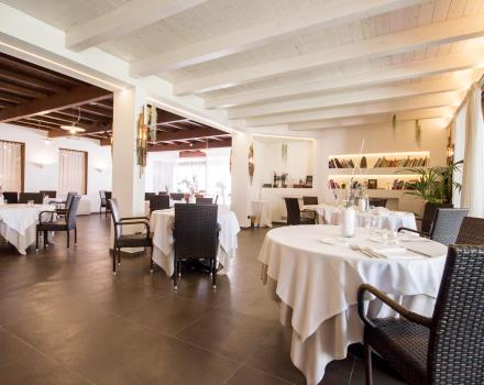 Inside the Osteria Emilia Restaurant