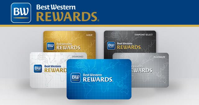 Sign up for loyalty program BWR: accumulate points for grtuite nights!