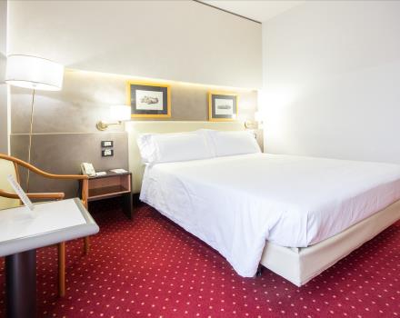 double comfort room with carpet