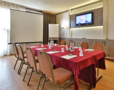 Best Western De Tomaso Modena District room for small meetings and business meetings
